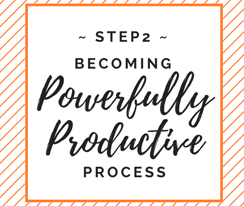 Part Two: How To Be Powerfully Productive In Business & Life