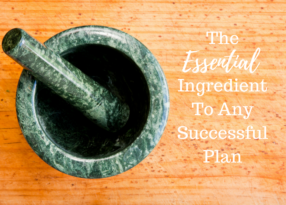[NEW BLOG] Revealed: The Essential Ingredient In Any Plan